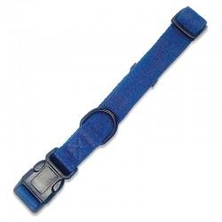 Collar azul 1,6x25-35cm