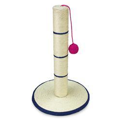 Rascador poste con bola 45 cm