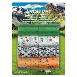 Bolsas de recambio de colores (8 rollos x 20 bolsas)