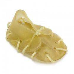 Zapatillas piel pequeña 7 cm. (bolsa de 50 unidades)