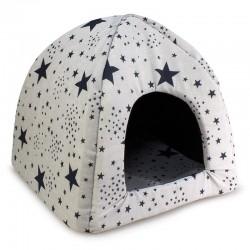 Iglú Estrellas Negras 45x45x40cm