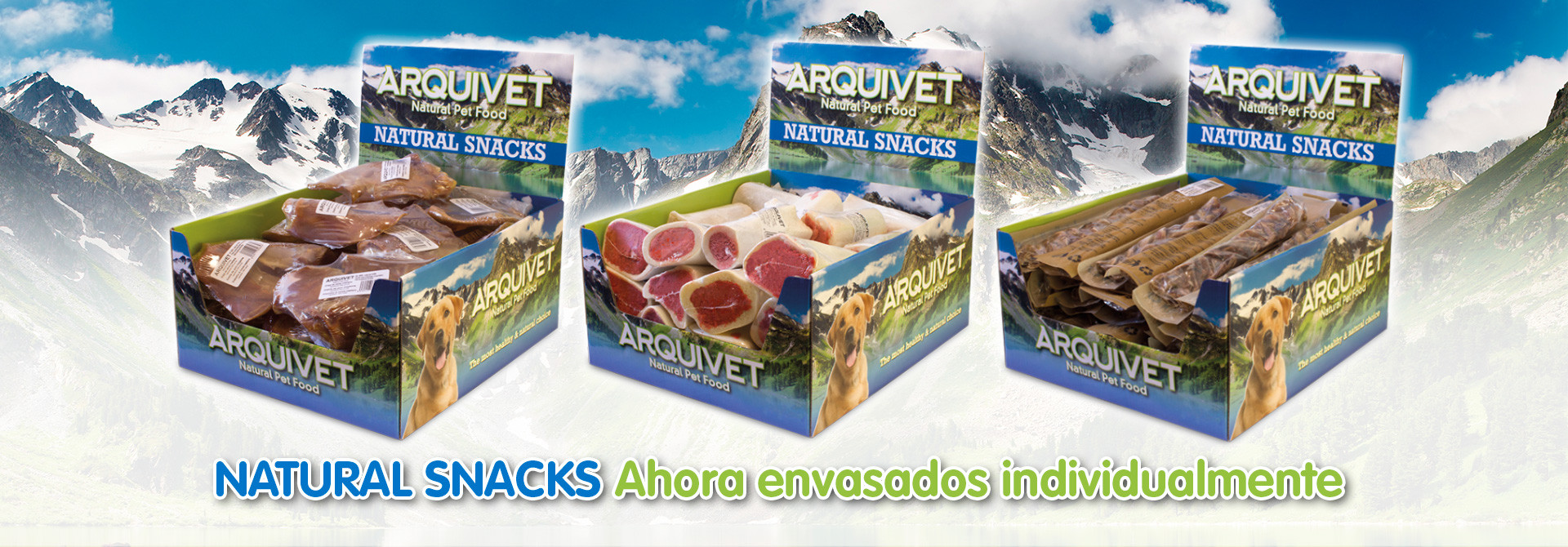 Natural Snacks en envase individual