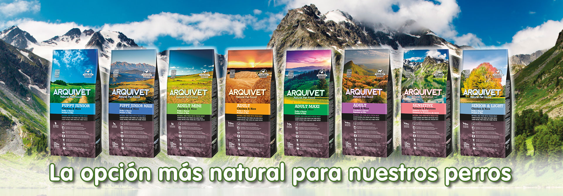 Natural Pet food para perros